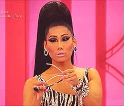 Watch fashion logo reality tv rupaul GIF on Gfycat. Discover more related GIFs on Gfycat