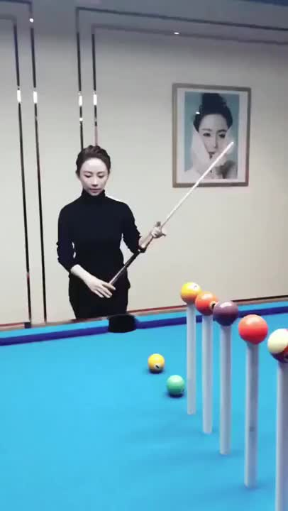 Watch and share Pretty Cool Pool Shot. SuperAthleteGifs GIFs on Gfycat