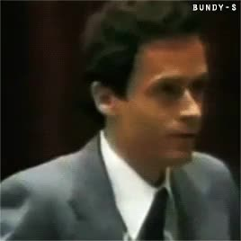 Watch and share Serial Killers GIFs and Theodore Bundy GIFs on Gfycat
