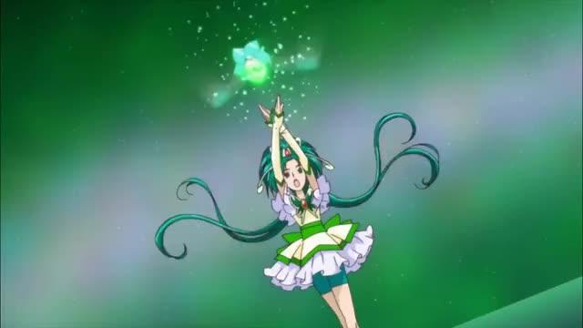 Watch [1080p]Cure Mint Attack Precure Mint Shield GIF on Gfycat. Discover more CC, Sreta, anime, glitterforce, precure, yt GIFs on Gfycat