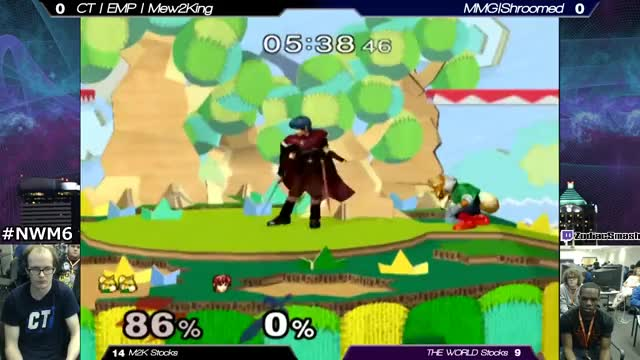 NWM 6: Mew2King Vs. THE WORLD [2/2]