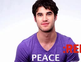 Watch and share Darren Criss GIFs on Gfycat