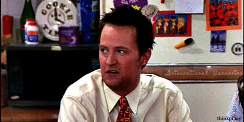 Watch and share Chandler Chandler Bing GIFs on Gfycat