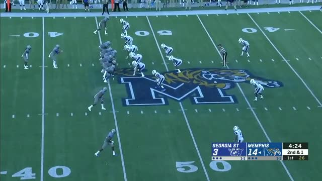 Watch and share Darrell Henderson GIFs and Cfb Game Tape GIFs on Gfycat