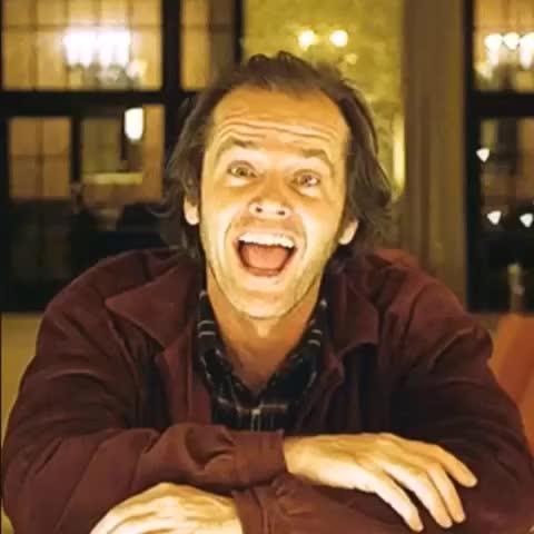 Watch and share Jack Nicholson GIFs by 121gigawatt on Gfycat
