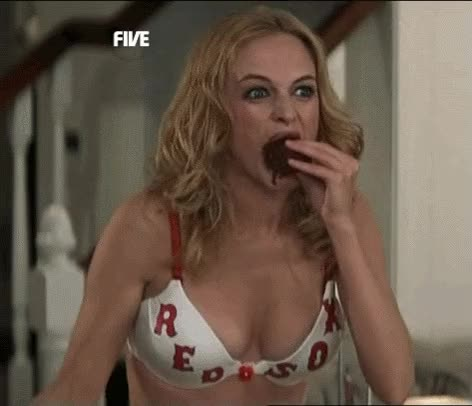 Watch and share Heather Graham GIFs and Red Sox GIFs on Gfycat