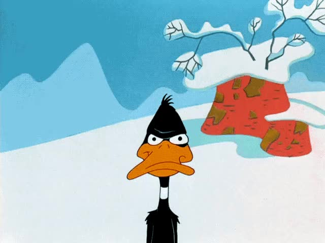 "Watch Looney Tunes - ""Duck, Rabbit, Duck!"" - Daffy's Annoyed Eyes (640x480) GIF by My Twitter Feed (@greenpuyo) on Gfycat. Discover more Daffy Duck, Duck Rabbit Duck, Looney Tunes, cartoon, daffy, duck, eyes GIFs on Gfycat"