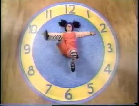 Watch and share The Big Comfy Couch - Clock Stretch GIFs on Gfycat