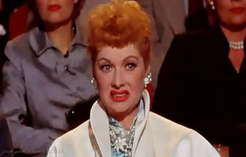 Watch and share Lucille Ball GIFs and Cringe GIFs by Reactions on Gfycat