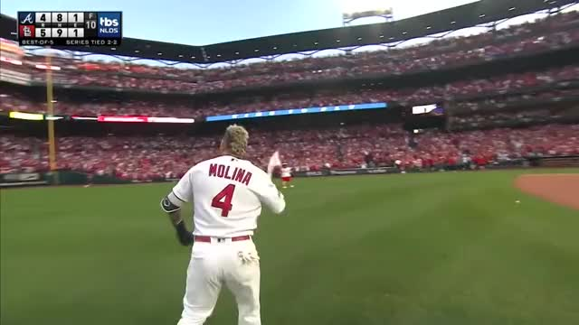 Watch and share Cards Highlights GIFs and Yadier Molina GIFs by SLR107FR31 on Gfycat