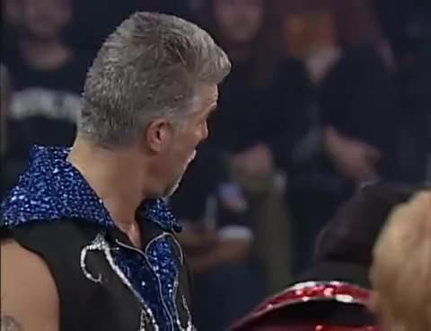 Watch Turning Point 2004: Hall, Nash and Jarrett vs. Jeff Hardy and AJ Styles (with Randy Savage) GIF on Gfycat. Discover more related GIFs on Gfycat