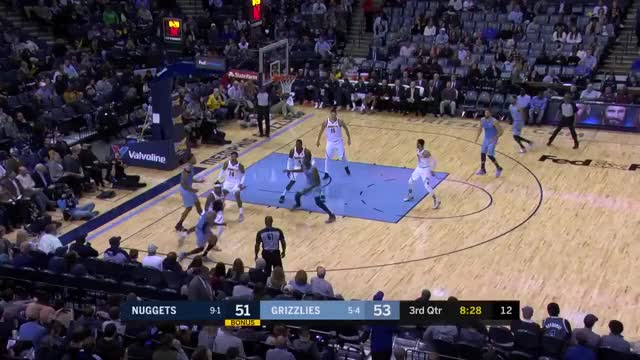 Watch and share Memphis Grizzlies GIFs and Denver Nuggets GIFs on Gfycat