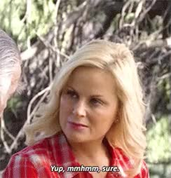 Watch and share Leslie Knope GIFs and Mmhmm GIFs on Gfycat