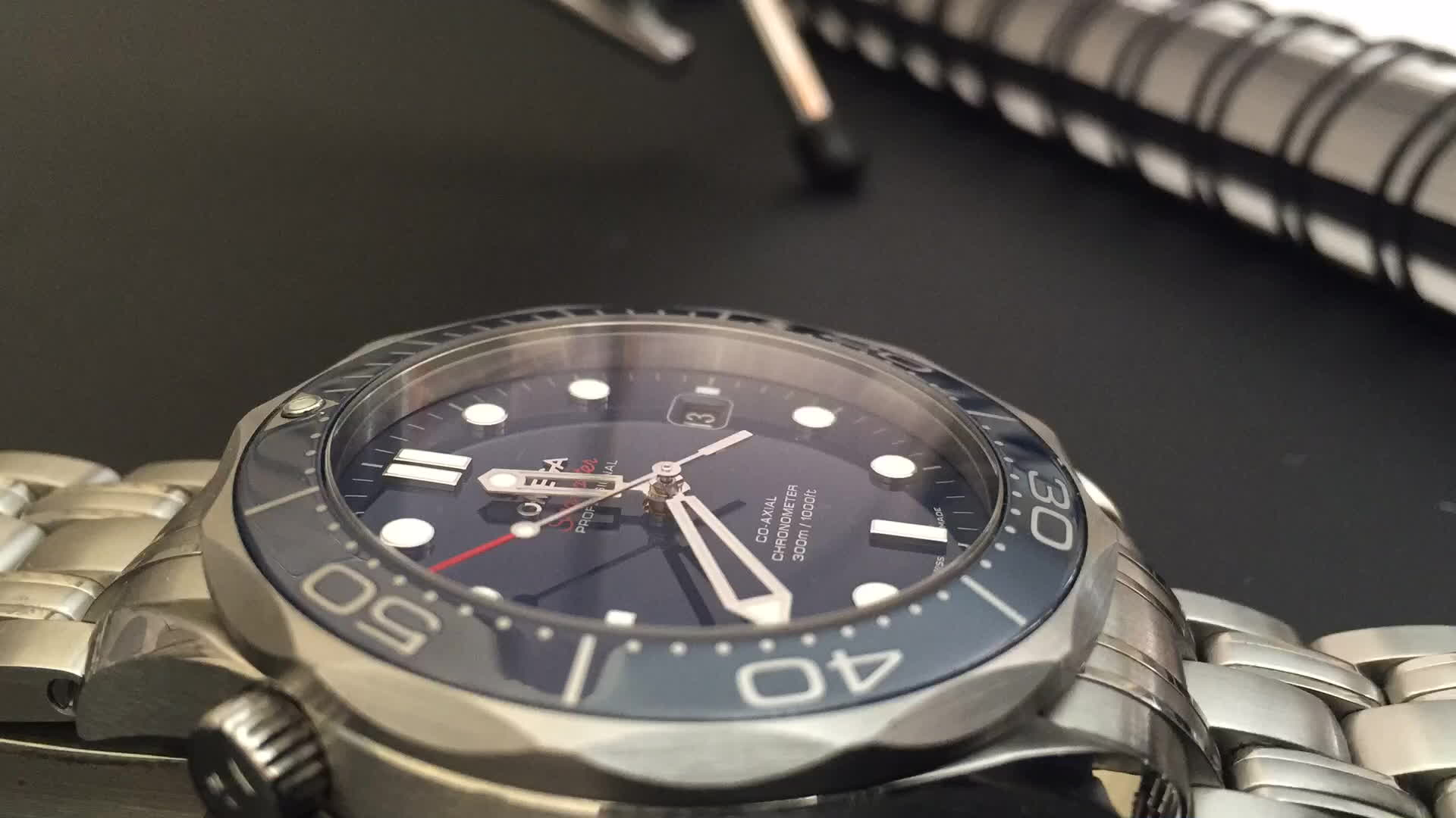Watches, Omega Seamaster GIFs