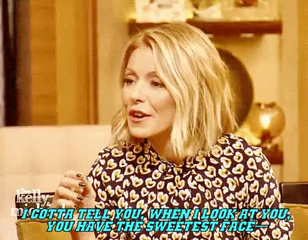 Watch this kelly ripa GIF on Gfycat. Discover more Juice Ortiz, Kelly Ripa, Live with Kelly and Michael, Michael Strahan, SOA, Sons of Anarchy, Theo Rossi, juice ortiz, kelly ripa, live with kelly and michael, michael strahan, soa, soa press, sons of anarchy, theo rossi GIFs on Gfycat