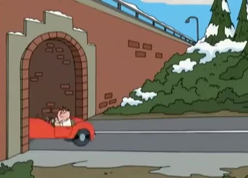 Watch and share Family Guy - Langes Rotes Auto GIFs on Gfycat