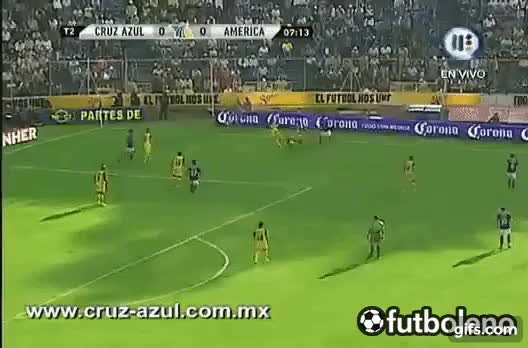 Watch and share Jornada 10 Cruz Azul Vs. América  (1-0) GIFs on Gfycat
