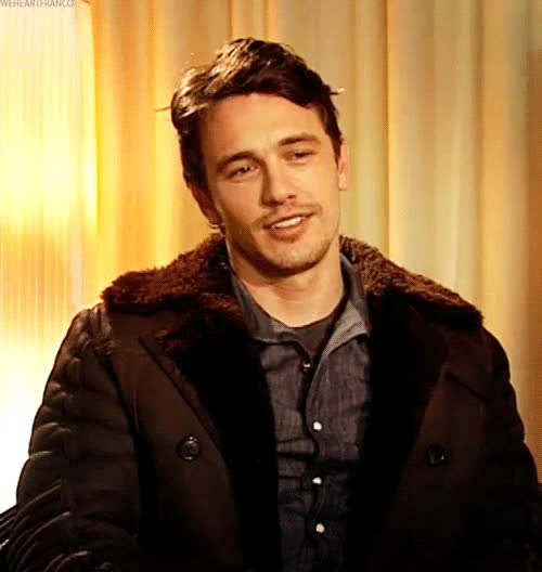 Watch and share When James Franco Smiles...my Panties Drop. GIFs on Gfycat