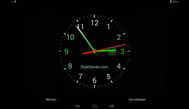 Watch and share Analog Clock Live Wallpaper-7_ GIFs on Gfycat