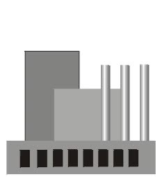 Watch and share Eff Factory With Smoke Stacks Animation Factory Clipart animated stickers on Gfycat
