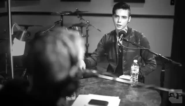 Watch Andy Biersack GIF on Gfycat. Discover more Alt Press, Andy, Interview GIFs on Gfycat