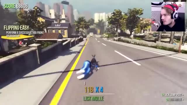 Watch Goat Simulator - IT'S HERE & IT'S AWESOME! GIF on Gfycat. Discover more pewdie, pewdiepie, pewds GIFs on Gfycat