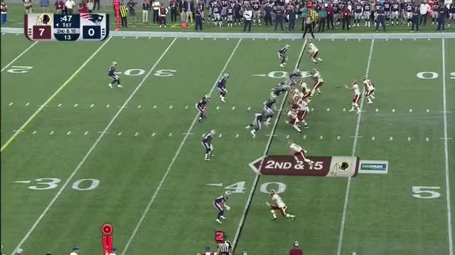 Watch and share 5 Ryan Lewis Tackle On Trey Quinn GIFs on Gfycat