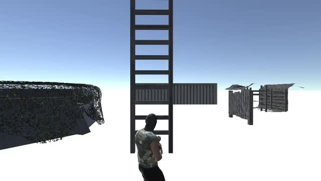 Watch and share Project Confrontation Ladder Climb GIFs by Project Confrontation on Gfycat