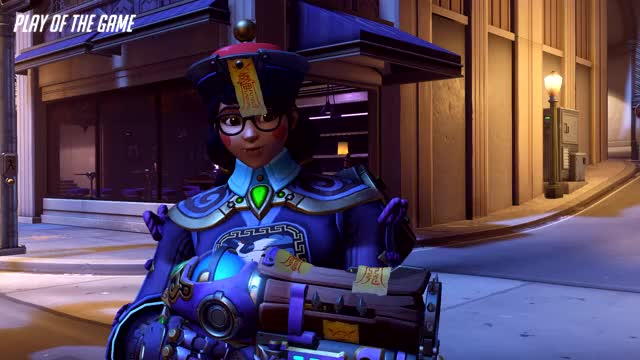 Watch and share Mei GIFs by 122overwatch on Gfycat