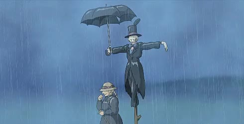 Watch and share Howls Moving Castle GIFs and When The Wind Blows GIFs on Gfycat