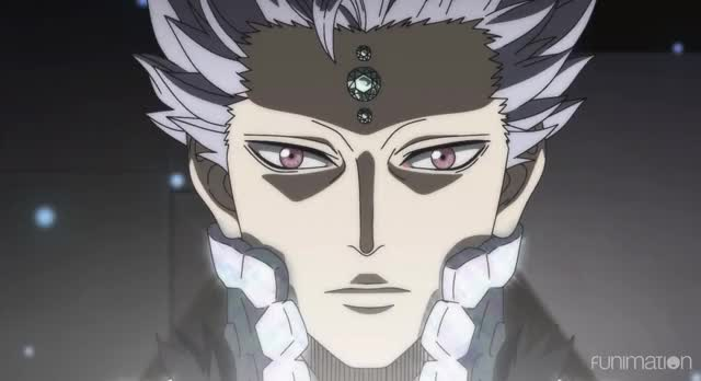Watch eye hurts GIF by Funimation (@funimation) on Gfycat. Discover more Black Clover, Black Clover Episode 17, Funimation, action, anime GIFs on Gfycat