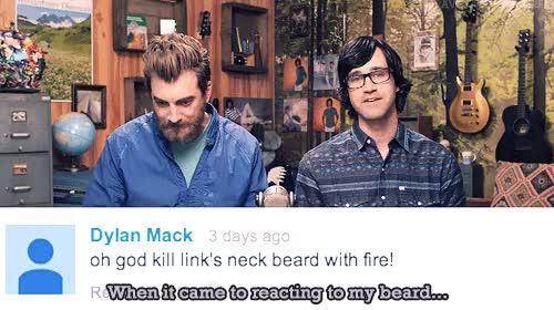 Watch and share Rhett And Link GIFs and Farewell Beard GIFs on Gfycat