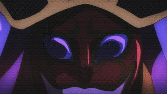 Watch and share Overlord Episode Ainz NegativeBurst Photoshop GIFs on Gfycat