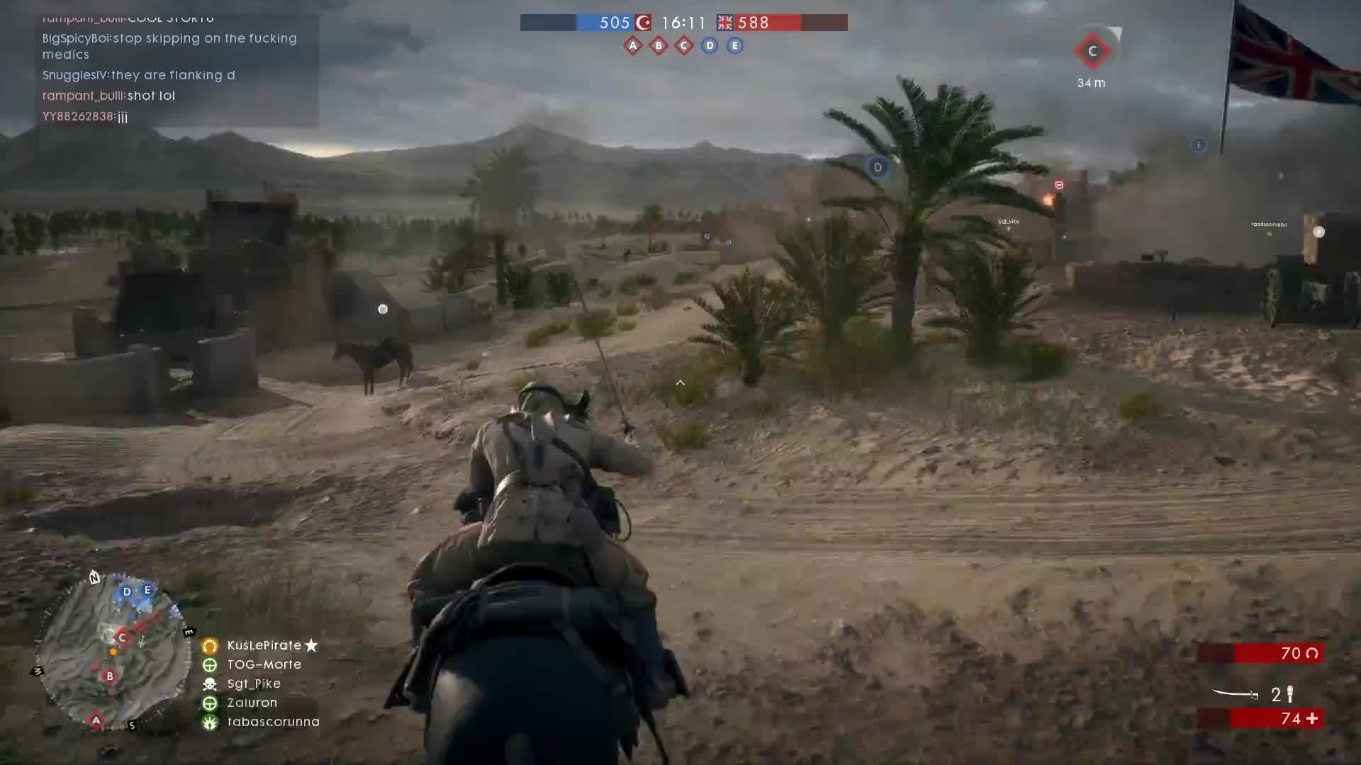 battlefield_one, gaming, horse, Battlefield One - Chaaaaaarge! GIFs