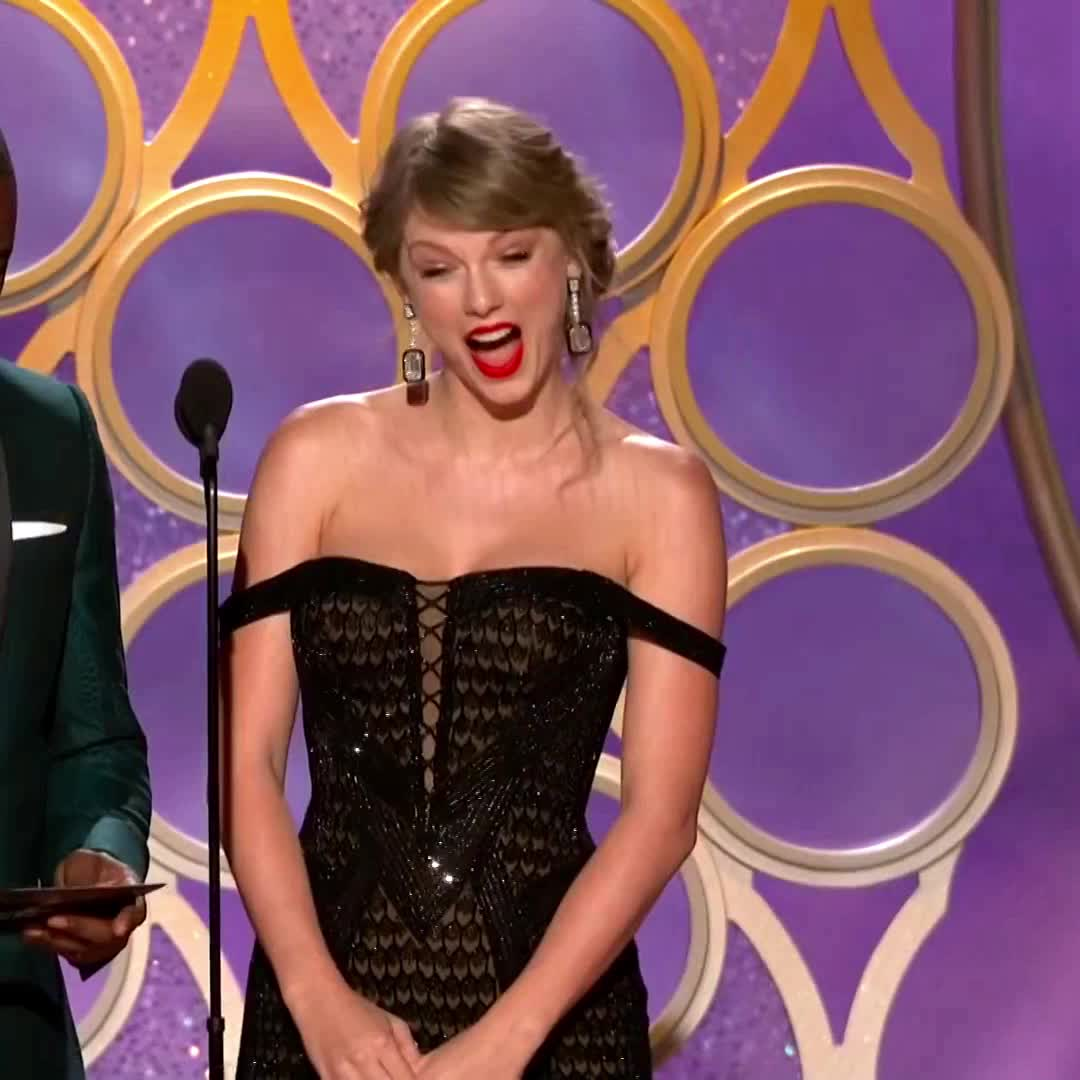 taylor swift, Taylor Swift at 2019 Golden Globes GIFs