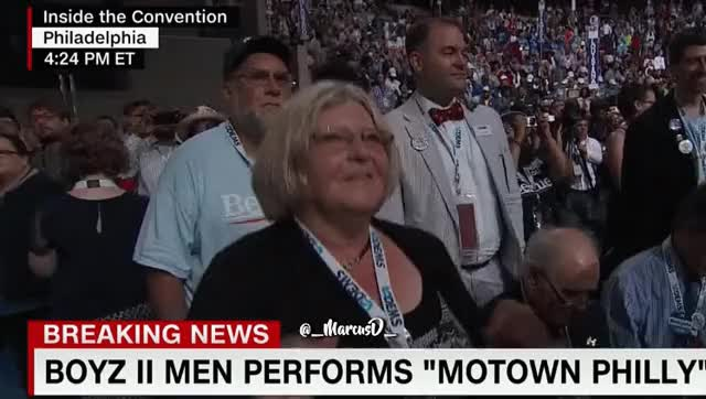 Watch and share Lady At DNC Dancing GIFs by MarcusD on Gfycat