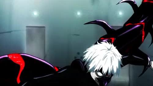 Watch this GIF on Gfycat. Discover more anime, anime fight, anime gif, anime tokyo ghoul, centipede, color, darkar, fight, gif, kaneki, kaneki ken, tokyo ghoul, tokyo ghoul centipede, tokyo ghoul gif GIFs on Gfycat