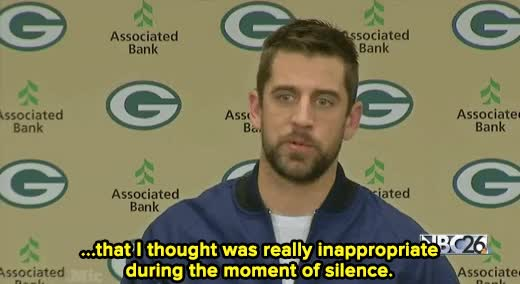 Watch and share Aaron Rodgers GIFs on Gfycat