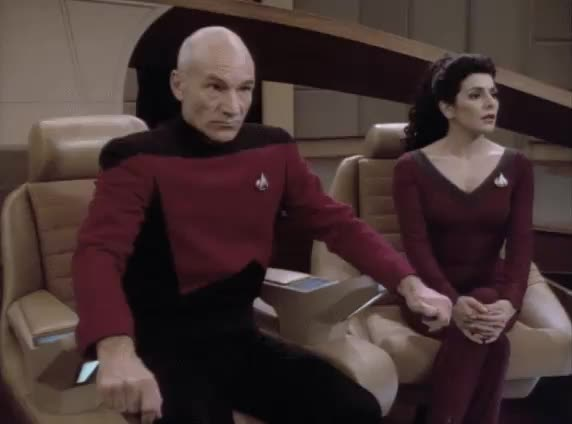 Watch USS Seattle is hailing GIF by Star Trek gifs (@star-trek-gifs) on Gfycat. Discover more Cause and Effect, Frasier, Frasier Crane, Kelsey Grammer, Morgan Bateson, Patrick Stewart, Picard, Star TRek, Star Trek The Next Generation, TNG, The Next Generation, celebs GIFs on Gfycat