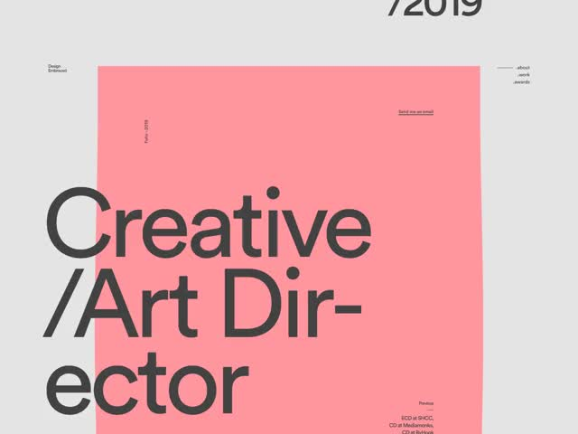 Watch and share Portfolio GIFs and Webdesign GIFs by BDW on Gfycat
