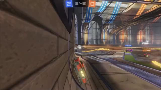Watch and share Norlands Fakes And Outplays Best Players 1s GIFs by Rocket League on Gfycat