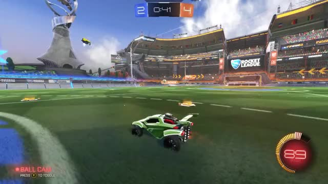 Watch Luck GIF on Gfycat. Discover more Gaming, RocketLeague, Valecilo RL, game, great GIFs on Gfycat