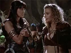 Watch this trending GIF on Gfycat. Discover more amazons, callisto, danielle cormack, ephiny, gabrielle, hudson leick, lucy lawless, melinda clarke, renee o'connor, velasca, xena GIFs on Gfycat