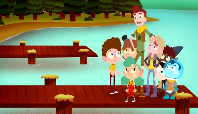 Watch and share Camp Camp, Episode 2 - Mascot GIFs on Gfycat