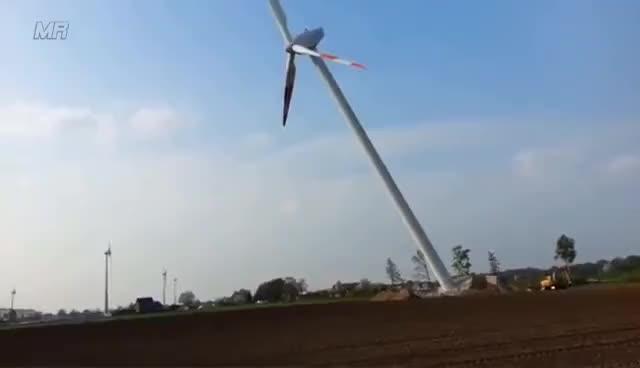Watch and share Best Wind Turbine CRASH/FAIL Compilation HD 2016 GIFs on Gfycat