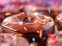 Watch chocolate donuts sprinkles GIF on Gfycat. Discover more related GIFs on Gfycat