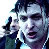 Watch this trending GIF on Gfycat. Discover more and gobblepot is just so delicious, as you know i ship nygmobblepot, ben mckenzie, but there's so little to work with, gobblepot, gotham, gothamedit, i always make gobblepot blue, idk why, it suits them, james gordon, my gifs, oswald cobblepot, robin lord taylor GIFs on Gfycat
