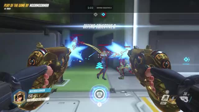 Watch and share Overwatch GIFs and Tracer GIFs by muniumuniu on Gfycat
