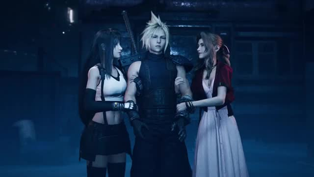 Watch and share FINAL FANTASY VII REMAKE For TGS 2019 GIFs on Gfycat