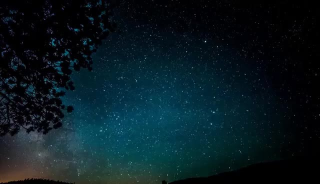Watch and share Milky Way Galaxy Night Sky Woodland Park Nikon D800 Time Lapse GIFs on Gfycat